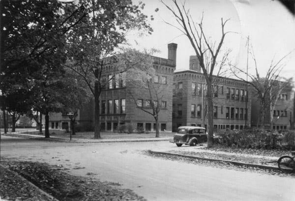 Brightwood School in 1939
